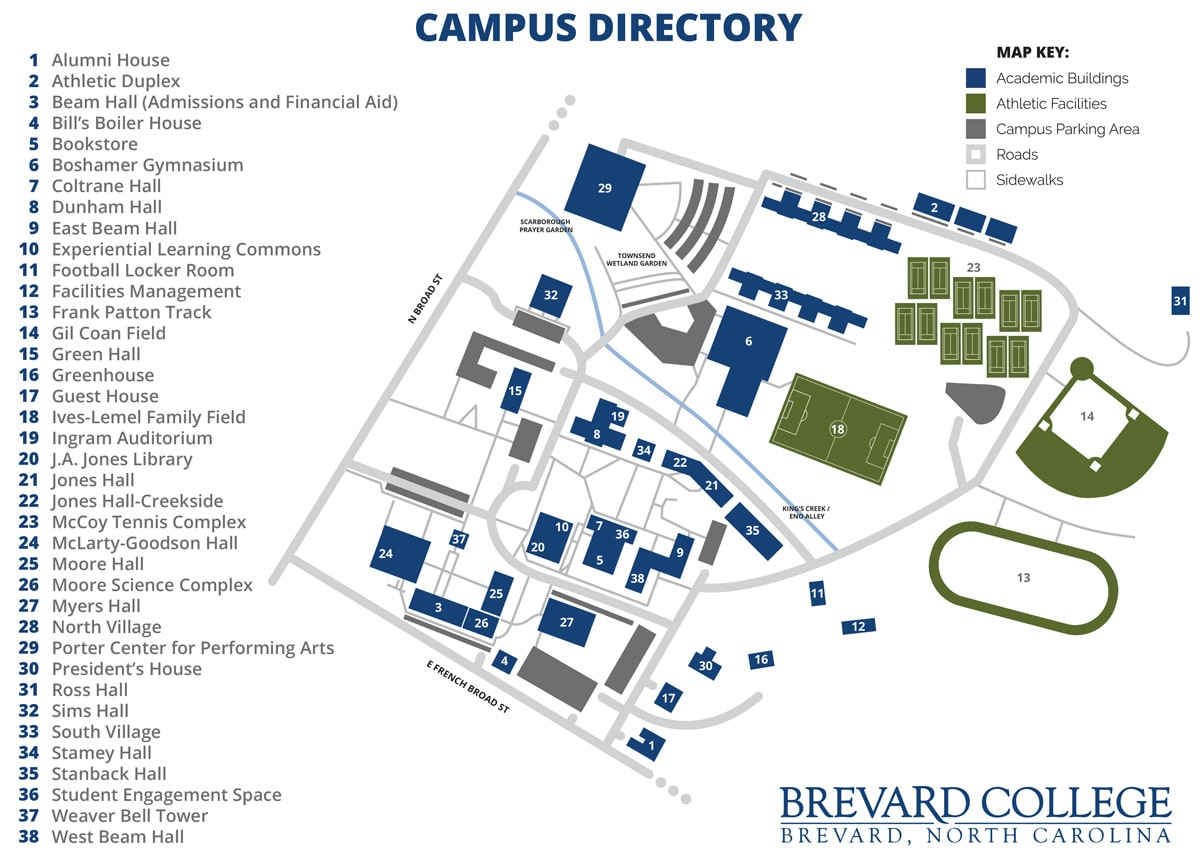 Where Is The Dining Room At Brevard College Brevard Nc